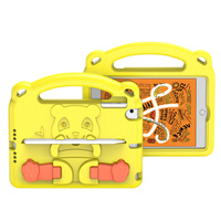 Dux Ducis Panda kids safe soft tablet case for iPad mini 5 / 4 / 3 / 2 / 1 with a holder for stylus pen yellow