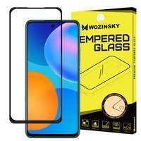 Wozinsky Tempered Glass Full Glue Super Tough Screen Protector Full Coveraged with Frame Case Friendly for Huawei P Smart 2021 black