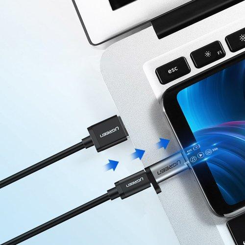 Ugreen USB Type C to micro USB adapter gray (50590)