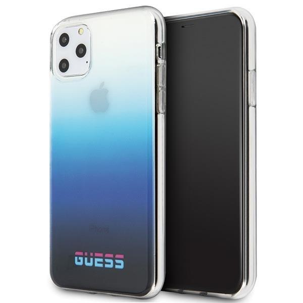 Guess GUHCN65DGCNA iPhone 11 Pro Max niebieski/gradient blue hard case California