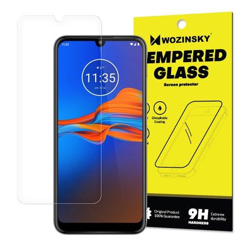 Tempered Glass 9H Screen Protector for Motorola Moto E6 Plus (packaging – envelope)
