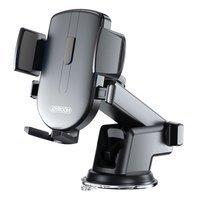 Joyroom samochodowy uchwyt na telefon z teleskopowym wysuwanym ramieniem na deskę rozdzielczą i szybę czarny (JR-OK3)