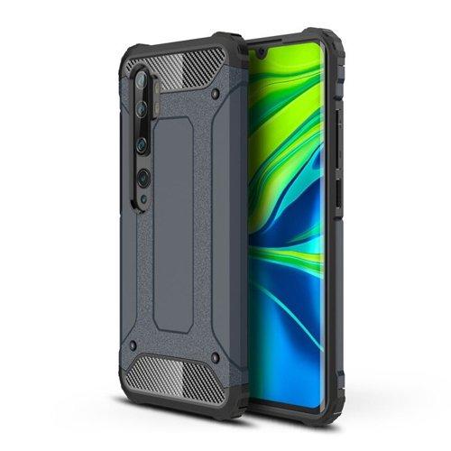 Hybrid Armor pancerne hybrydowe etui pokrowiec Xiaomi Mi Note 10 / Mi Note 10 Pro / Mi CC9 Pro niebieski